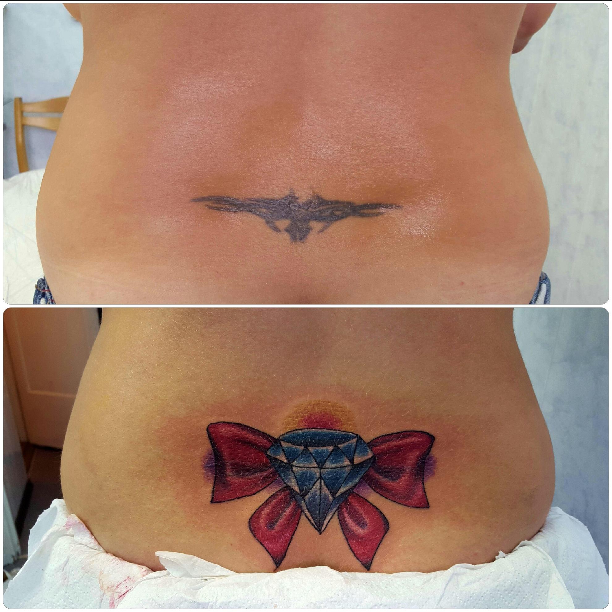 Фото татуировок после похудения